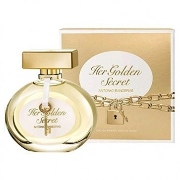 Antonio Banderas Her Golden Secret Eau De Toilette 80ml