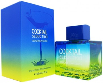 Antonio Banderas Cocktail Seduction Blue Eau De Toilette 100 ml