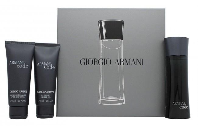 Giorgio Armani Black Code Gift Set 75 Ml Eau De Toilette Perfume