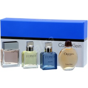 Calvin Klein Mix Gift Set 4 x 15 ml