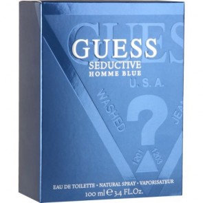 Guess Seductive Blue Eau De Toilette Natural Spray