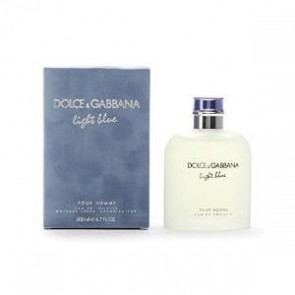 Dolce & Gabbana Light Blue Eau De Toilette Spray 200ml