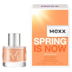Mexx Spring is Now Eau de Toilette