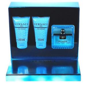 Versace Man Eau Fraiche Gift Set 50ml Eau de Toilette